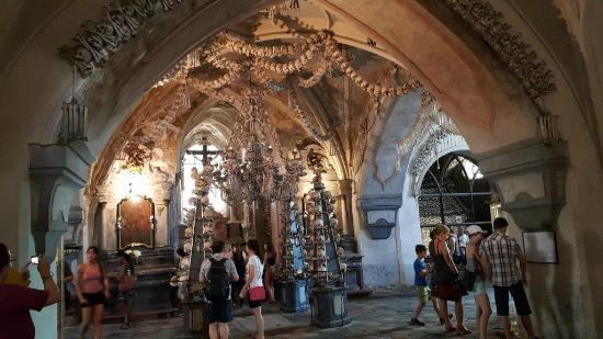 Ossuary / The Cemetery Church: Ossuary at Kutna Hora-Sedlec