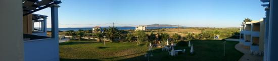 Neapolis, اليونان: Dalla stanza