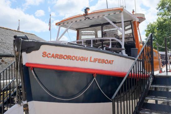 St Austell, UK : Scarborough Lifeboat