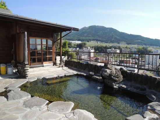 Shimaya Ryokan: Open-air Bath