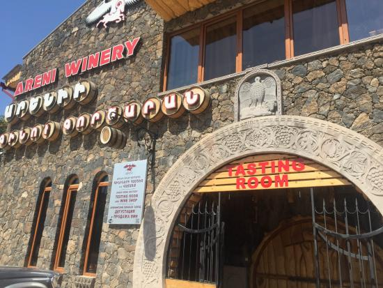 Areni, Armenia: Welcome to wine tasting