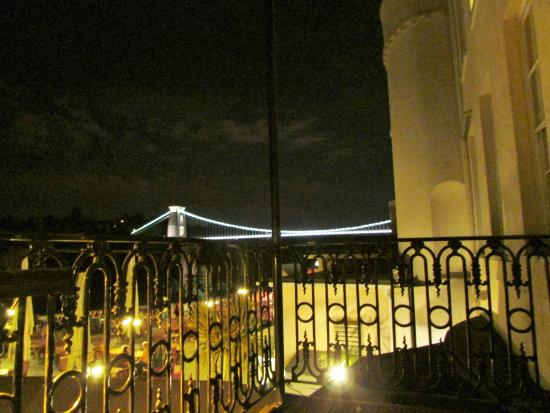 We from balcony by day picture of avon gorge hotel for Balcony night view