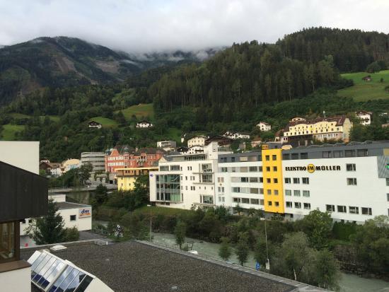 Hotel Schrofenstein: 部屋からの眺め