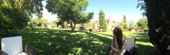 Relais San Bruno: the gardens