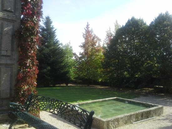 Casa de Santo Antonio de Britiande: By the main garden