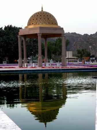 Al-Riyam Park: A gazebo in the park