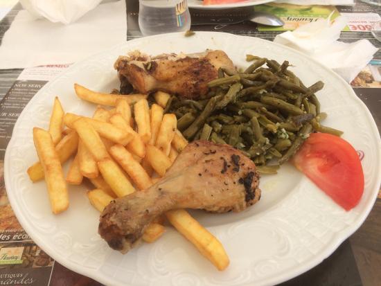 Entr e et plat du jour c 39 est pas de la grande cuisine - Dressage des plats en cuisine ...