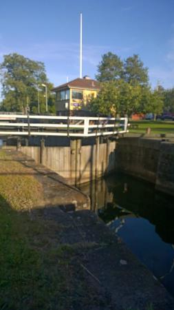 Norsholm, สวีเดน: Suddig sluss