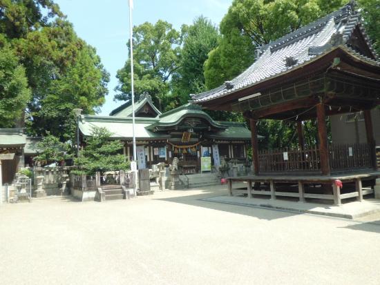 Koromo Shrine: 本殿