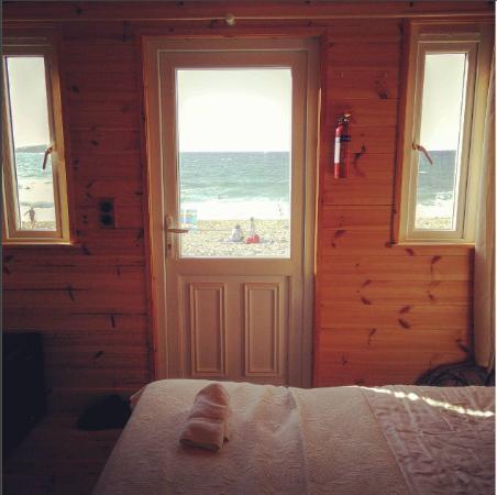 Tolcarne Beach Surf Shacks: Inside the cabin