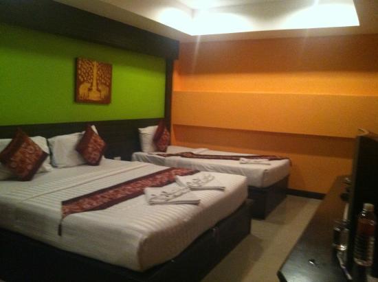 Great Residence Hotel: ห้องพัก