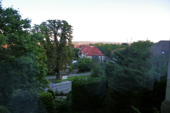 Schlossberg-Hotel: View from Room 21
