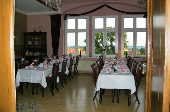 Schlossberg-Hotel: Breakfast room