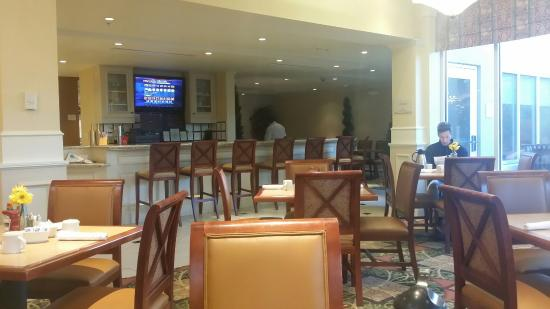 Typical Garden Inn Restaurant Layout Menu Is Not Great Selection Of A Variety Of Menu Items I
