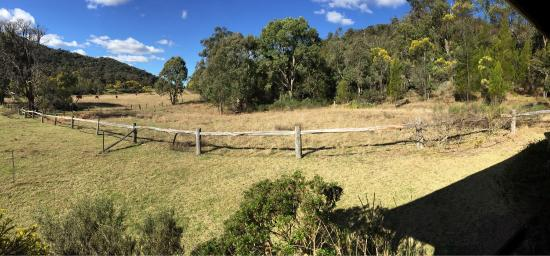 Wyberba, Australia: Highlights of our stay in Lavender cabin at Wisteria Cottage