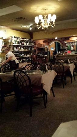 Leone's Ristorante & Pizzeria: Leone's with partial view of wine selection