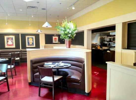 The Weathervane Restaurant : inside
