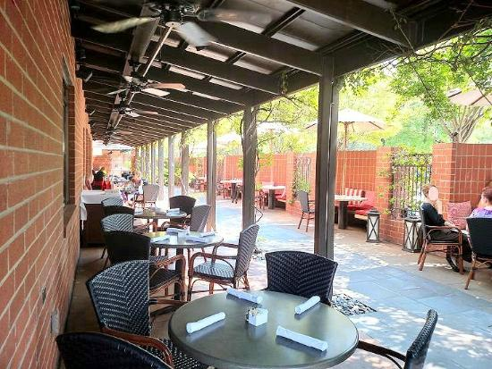 Outside Seating Picture Of The Weathervane Restaurant