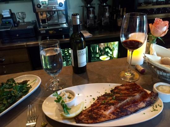 CK's Real Food: Blackened Idaho Trout