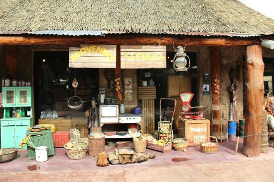 Buin Zoo: Várias lojas com souveniers espalhadas