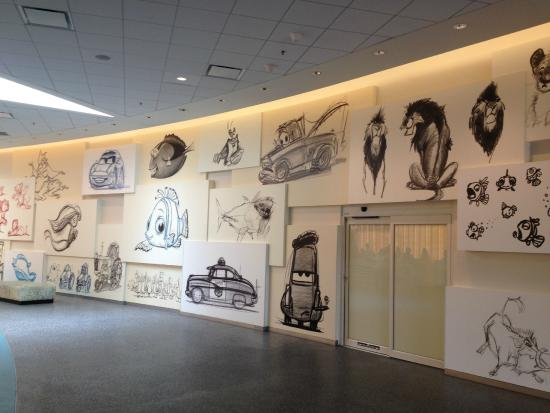 Disney S Art Of Animation Resort Lobby Wall