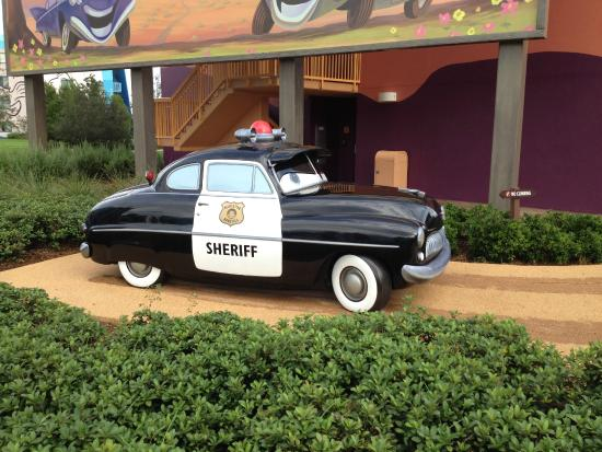 The Sheriff Cars Picture Of Disney S Art Of Animation