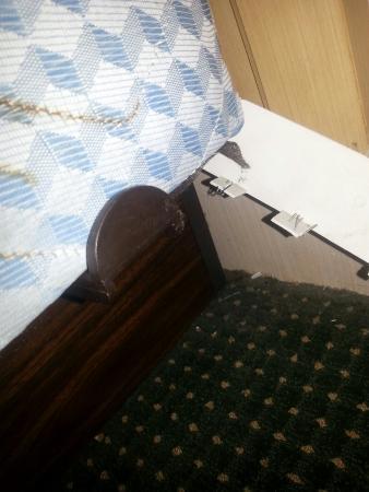Poughkeepsie Inn: Worst hotel ever