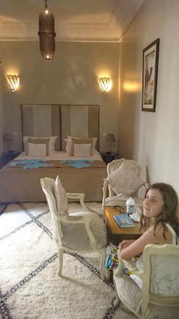 Zamzam Riad: our room