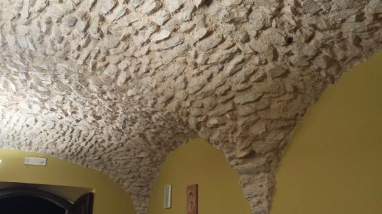 Sesto Campano, Italia: Dettaglio soffitto sala ristorante