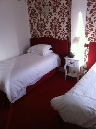 Hotel du Boeuf Couronne: chambre