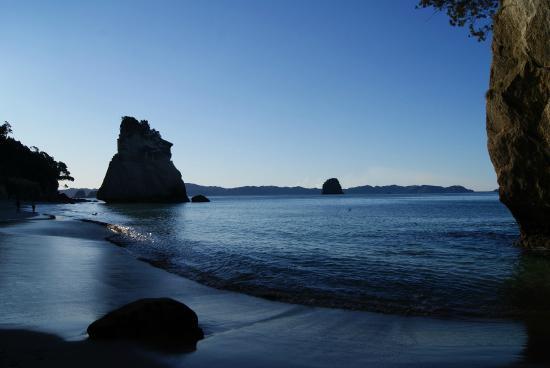 Hahei, Nya Zeeland: Cathedral cove
