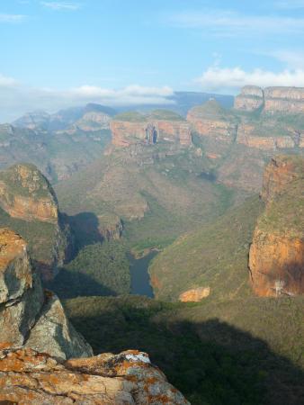 Forever Resort Blyde Canyon: vue depuis le resort