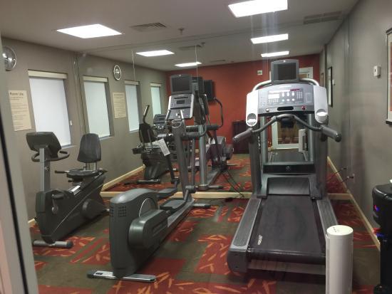 Residence Inn Atlanta Alpharetta/Windward : Small but good quality equipment