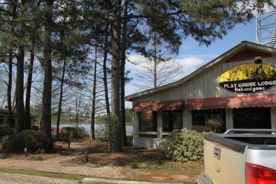 The Dining Room At Flat Creek Lodge Swainsboro Restaurant Reviews