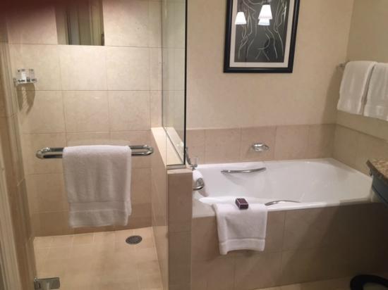 Bagno con doccia e vasca foto di four seasons hotel - Vasca da bagno e doccia insieme ...