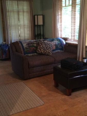 Heartwood Inn and Spa: living area