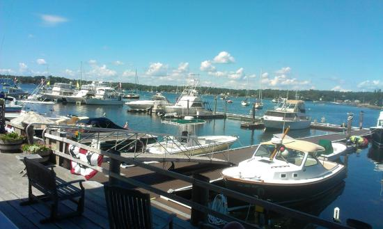 Brown's Wharf Inn: View from outside my room (102)