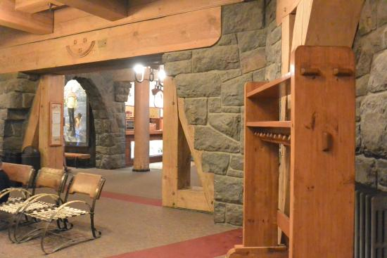 Hood River, OR: Timberline Lodge - Rustic Stone and Woodwork