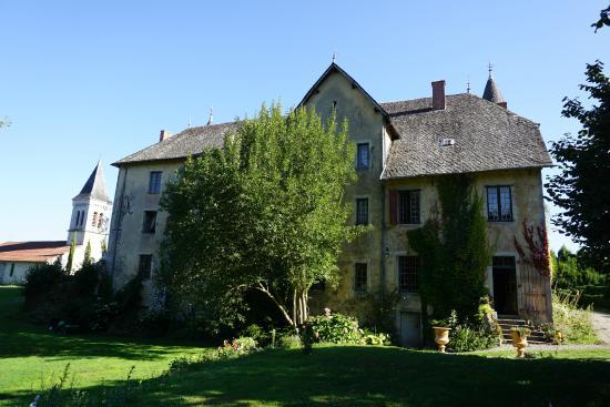 Bessonies, France : derrière le chateau