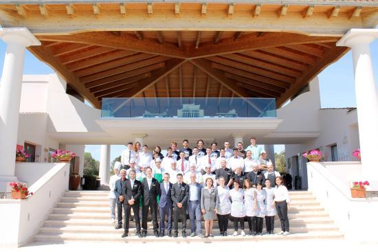 Grande Baia Resort & SPA : Staff del Resort