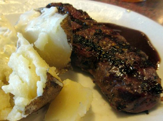 Shari S Restaurant Sirloin Steak And Baked Potato