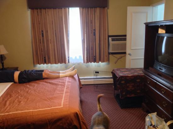 Americas Best Value Inn & Suites: Bed