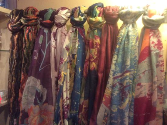 Pots of Coffee: Scarves and accessories at Pots