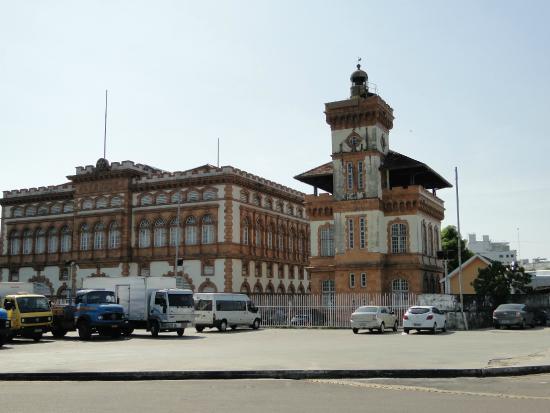 Customs House (Alfandega): visão externa