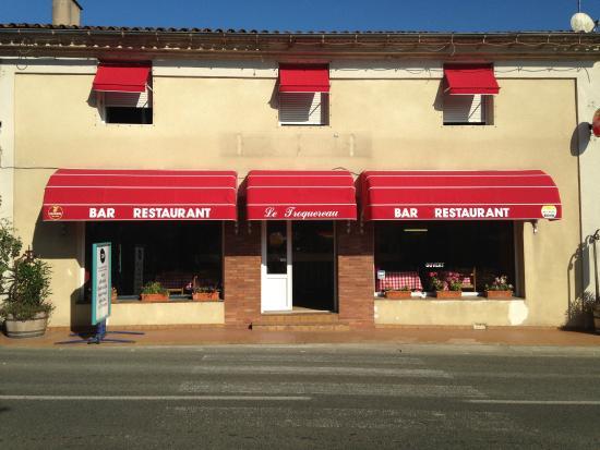 Coutras, Франция: restaurant le troquereau