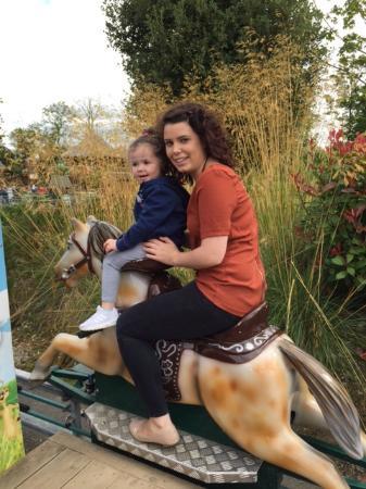 riding human pony