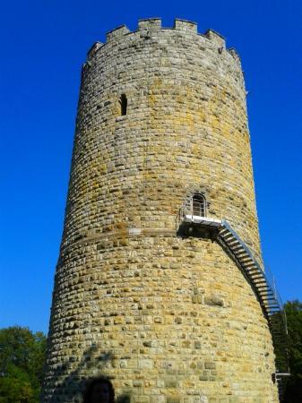 Heinrichsturm: Вход в башню-музей