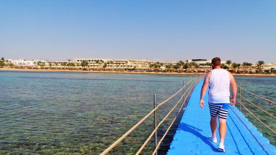 Coral Sea Sensatori - Sharm El Sheikh: view from the jetty