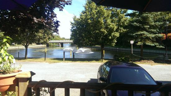 Maximillian's restaurant: View from the back patio