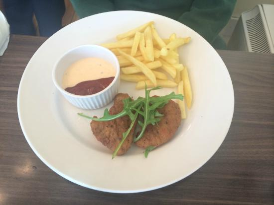 Kids Meal Chicken Goujons Fries Picture Of Haydes Naas